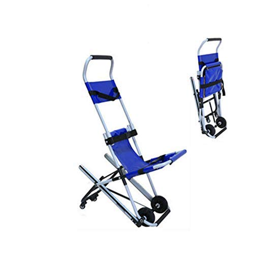SuRose Leichter Treppen-Evakuierungsstuhl DW-ST004, Leichter medizinischer Krankenwagenaufzug aus Aluminium, Fahrtrage