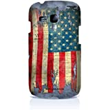 Sublinov Coque rigide pour Samsung Galaxy S3 Mini Motif Ron Abraham USA Multicolore