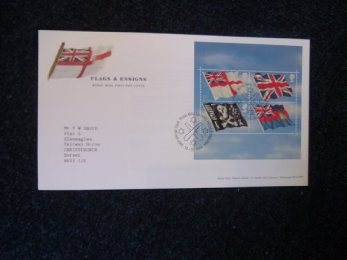 2001bandiere & Ensigns, Edimburgo First Day cover con speciale timbro postale