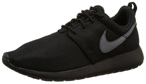 Nike Roshe One (Gs) Scarpe da ginnastica, Bambini e ragazzi, Nero (Black/Cool Grey), 36