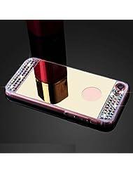 """Leeook - Zapatillas de tenis de mesa para mujer Diamond Mirror,Gold iPhone 6S/6 4.7"""""""