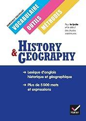 History Geography Classes européennes, Vocabulaire, outils et méthodes éd. 2013
