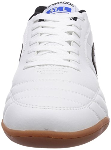 KangaROOS  K-Yard 3021, Sneakers basses homme Blanc (White/Black 005)
