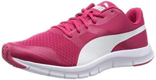 Puma Flexracer, Sneakers basses mixte adulte Rouge (RoseRouge/White 06)