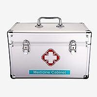 Medizinschränke Medizinbox Hausapotheke Multilayer Doppelschloss Erste-Hilfe-Kasten Arztschrank Medizinische Untersuchungsbox... preisvergleich bei billige-tabletten.eu