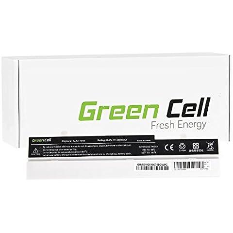 Green Cell® Portátil Batería para Asus Eee-PC 1005 Ordenador (4400mAh)