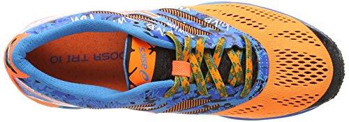ASICS - Gel-Noosa Tri 10, Scarpe Da Corsa da uomo Arancione (Hot Orange/Hot Orange/Electric 3030)
