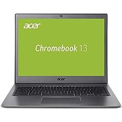 Acer Chromebook 13 CB713-1W-P1SN 33,8 cm (13,3 Zoll QHD IPS Multi-Touch) Notebook (Intel Pentium 4415U, 4GB RAM, 64GB eMMC, Intel HD, Chrome OS) anthrazit Acer Chromebook
