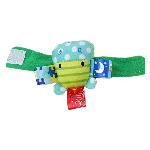 Jixing Cute 3D Armband Baby Uhr mit Baby Handgelenk Glocke Armband