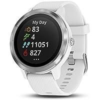 Garmin vívoactive 3 GPS Smartwatch - White & Stainless