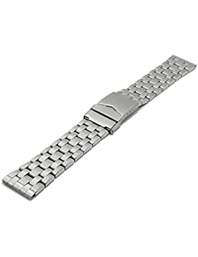 Meyhofer Uhrenarmband Krems 20mm Edelstahl gefaltet teilweise poliert MyCrkmb531/20mm/stahl