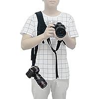 Mcoplus universale fotocamera veloce tracolla cintura con tracolla Nero Sling