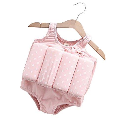 HOUTBY Schwimmende Baby / Mädchen Badeanzug Training Kinder Schwimmen Swimbest Schwimmer Anzüge Biquini Sicherheit Badeanzug -