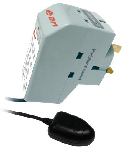 Energy Saver Powerdown Surge Protection TV Plug Remote Power Down Sensor EON by EON