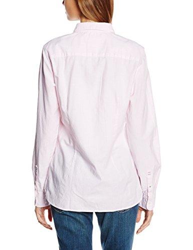Tommy Hilfiger Sithaca Stp Shirt Ls W3 - chemise - Femme LIGHT PINK/ CLASSIC WHITE STRIPE (LIGHT PINK/ CLASSIC WHITE STRIPE)