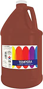 Pro Art 1-Gallon Liquid Tempera, Brown