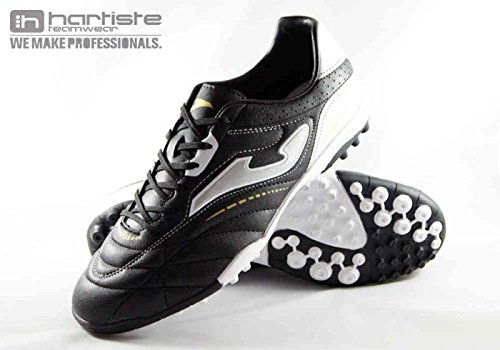 Joma Aguila 501 Black Turf Mult inocken Chaussures de Football Noir/blanc