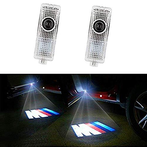 Autotür Logo Licht Auto Geist Schatten Projektor Tür Lampe, für E90 E91 E92 E93 M3 E60 E61 F10 F07 M5(2 Stück) Led-paket