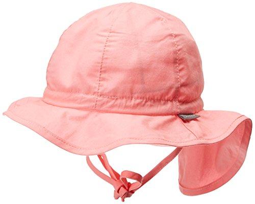 Sterntaler Flapper für Mädchen mit Bindebändern und Nackenschutz, Alter: ab 2-4 Jahre, Größe: 53, Bonbonrosa