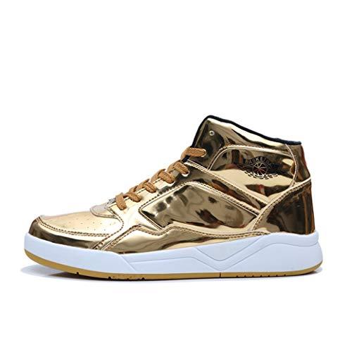 Scarpe da Pallacanestro da Uomo Sneaker Alta Traspirante e Resistente Indossa Scarpe da Ginnastica Impermeabili Antiscivolo