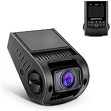 Cámara para coche APEMAN Dashcam Camara de Coche Videocámara HD 1080P gran ángulo de 170 °, Mini Covert Dash Cam versátil coche cámara con G-Sensor WDR visión nocturna Grabación Sobre-escribe (Negro)