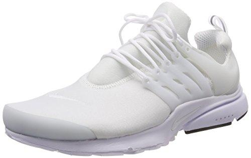 Nike Herren Air Presto Essential Sneaker, Weiß (White/Black), 47.5 EU