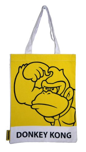 Nintendo Super Mario Donkey Kong 2D Retro Art Shopper