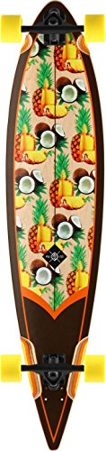 "Flying Wheels, Skateboard, modello piña colada, 44,5"", Marrone (Marron)"