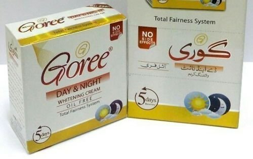 ABDUS Goree Day And Night Whitening Cream Dark Circles, Spots Pimples Removing 30 Grams
