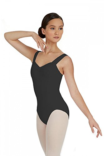 capezio-tc0001-tactel-ladies-wide-strap-leotard-black-m-by-capezio