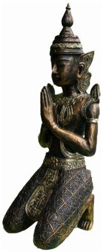 GROßER TEMPELWÄCHTER # BUDDHA # ASIEN FIGUR SKULPTUR NEU