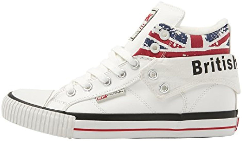 British Knights Herren Sneaker Weiß White/Union Jack