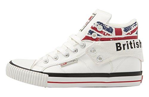 British Knights ROCO Herren HIGH-TOP-Schuh Sneaker (Knights Sneakers)