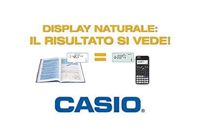 Casio FX-991EX Scientific Calculator, Battery, Solar Energy Driven