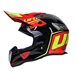 WZFC Crosshelm Motocross Enduro Downhill Helm Motorradhelm Integralhelm (Model-UFO-1),L