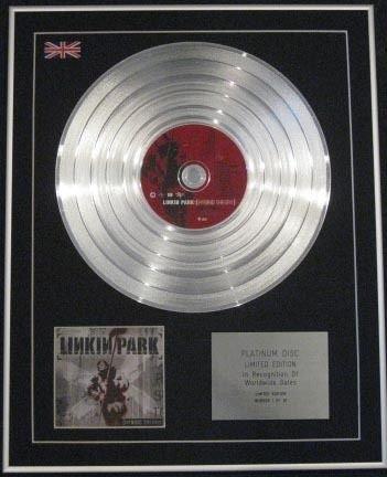 Linkin park Platin-CD, limitierte AuflagePlatinum disc-hybrid Theorie