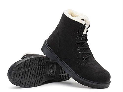 YCMDM Snow Boots cotone Scarpe Martin Stivali da donna autunno-inverno