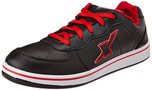 Sparx Men's Black and Red Sneakers – 8 UK (SD0212G) 414mJVWoDOL