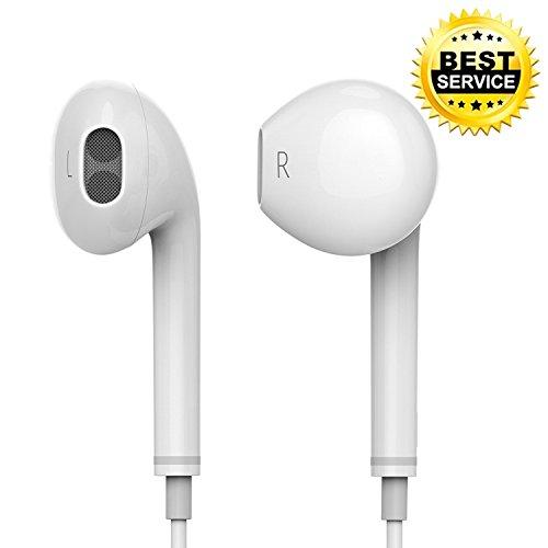 In Ear Kopfhörer Bass/Wired Kopfhörer mit Stereo,DAREYOU Noise Isolating High Definition mit Mikrofon und Fernbedienung Kompatibel mit iPhone 6 6s Plus 5s 5c 5 SE iPod iPad (1 Pack)