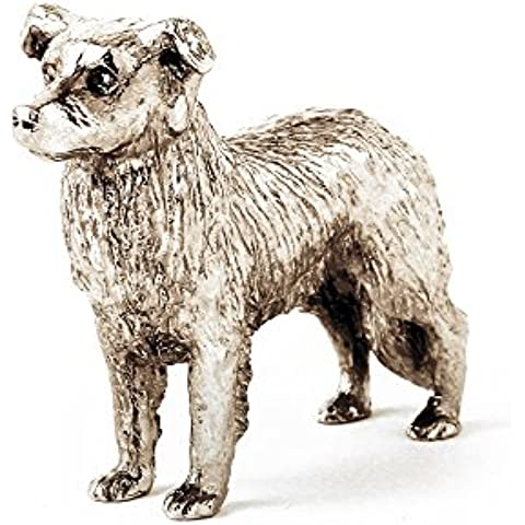 Border collie dog figure made in UK (japan import)