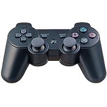 Artion Noir Bluetooth sans fil Game Contrôleur pour PS3 Replacement pour PS3 Controller