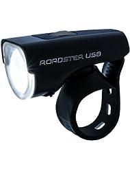 "Beleuchtungsset / Komplett-Set Fahrradleuchte ""Roadster USB"" und Rückleuchte ""Nugget"""