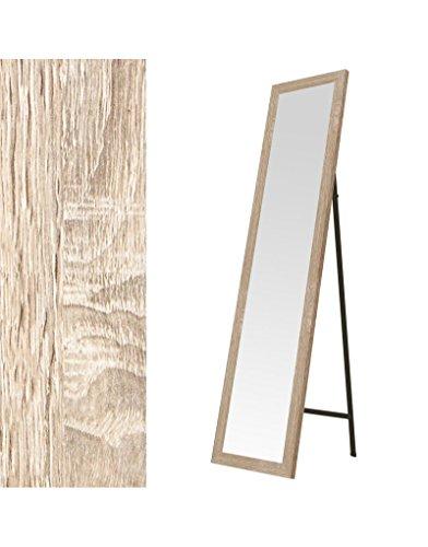 Hogar y Mas- Espejo de pie en madera color natural
