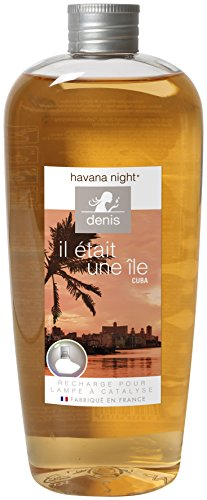 Le Chat 1191524 Recharge de 400ml pour lampe à catalyse CUBA - tabac noir / parfum havana night