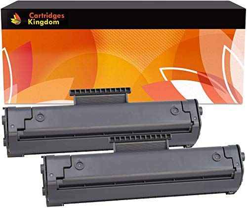 Cartridges Kingdom 2-er Pack Toner kompatibel zu HP C4092A 92A für HP Laserjet 1100 1100A 1100SE 1100XI 3200 3200M 3200SE Canon LBP-800 LBP-810 LBP-1110 LBP-1120 LBP-200 LBP-250 LBP-350 - Drucker 92 Hp Patrone