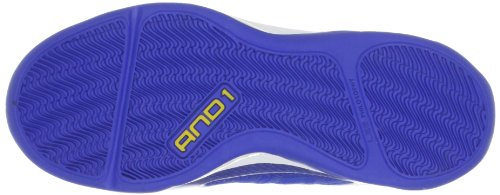AND1 ME8 - Empire Mid 2.0 1001203009, Chaussures de basketball mixte adulte Bleu (Bleu-TR-H4-10)