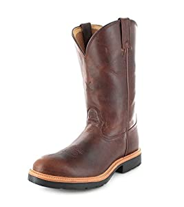 Twisted X Pull On Smooth Leather Cowboy Boots