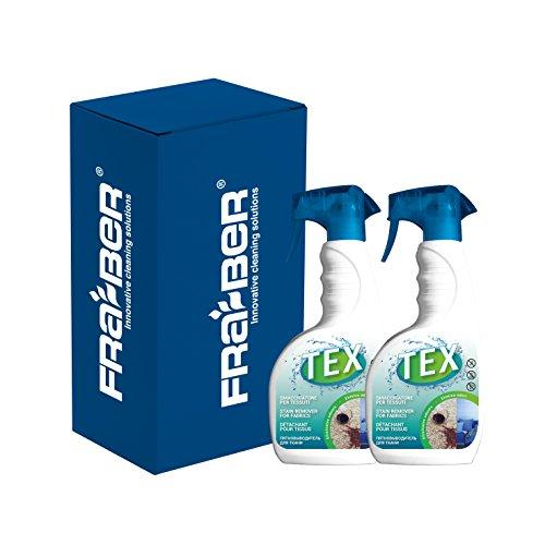 Fra-Ber Tex - Nettoyeur et détachant pour tissus et cuir, élimine les odeurs, 750 ml