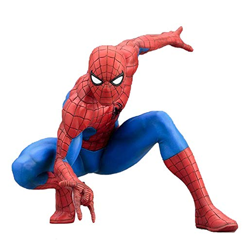 HAIZI FIGURE Marvel-Serie Die Erstaunliche Spider-Man-Galerie Modell Spiderman Figures - Kostüm Galerie Modell
