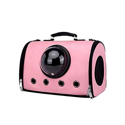 Maerye Tasche Haustier Hund Rucksack Dachbox, Tragbare Haustier Tasche Atmungsaktiv Heimtierbedarf Tiertransport Tasche geeignet für 4-7 kg Hund